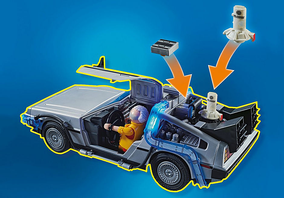 70634 Back to the Future Part II Hoverboard-jagten detail image 4