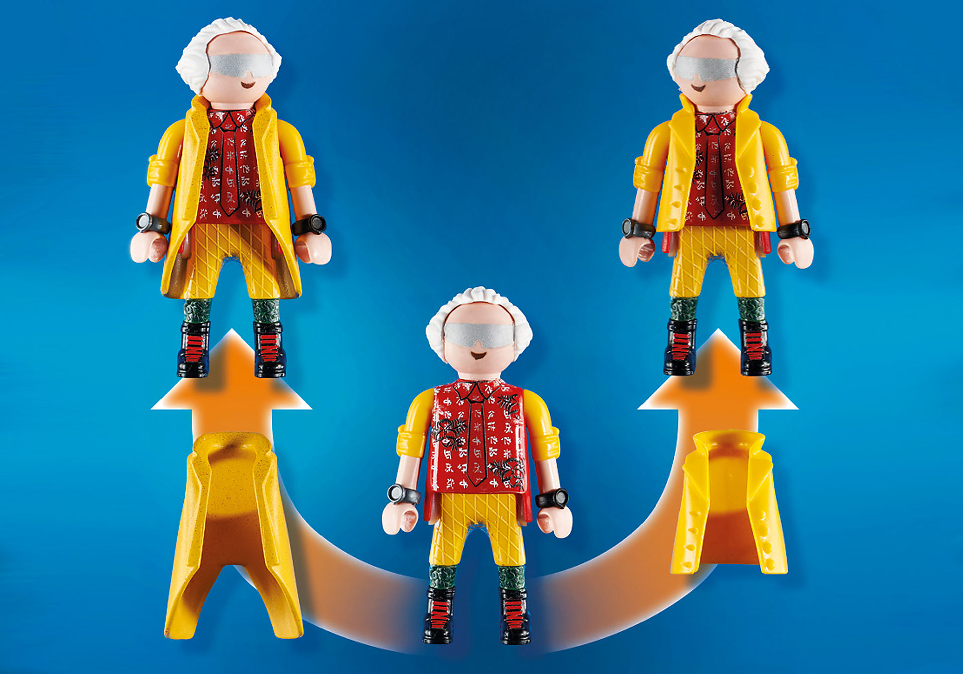 70634 Back to the Future Part II Hoverboard Chase zoom image4