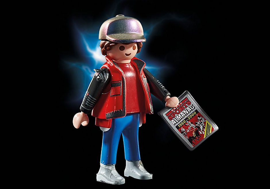 70634 Back to the Future Part II Hoverboard Chase detail image 6