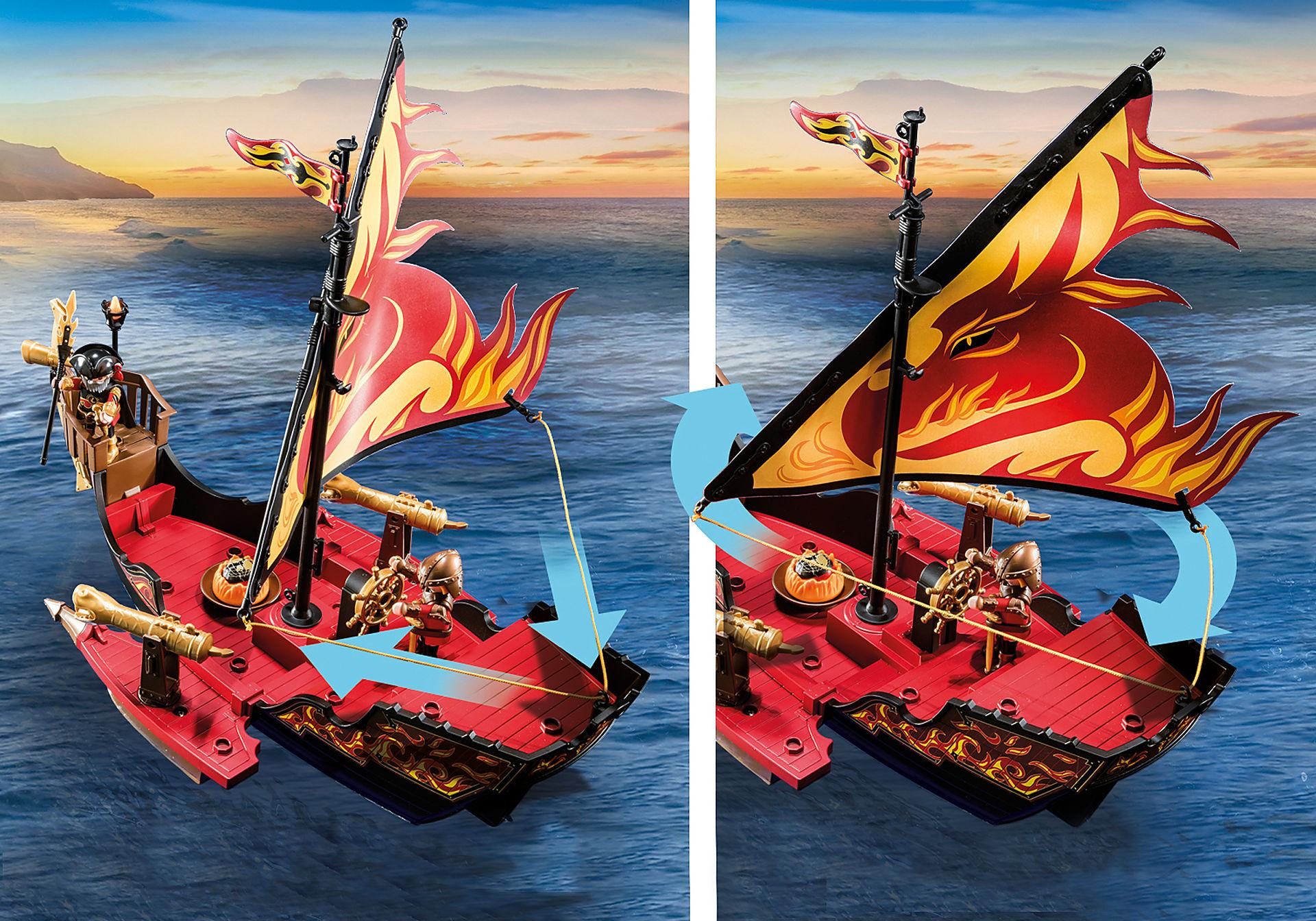 70641 Burnham Raiders Fire Ship zoom image4