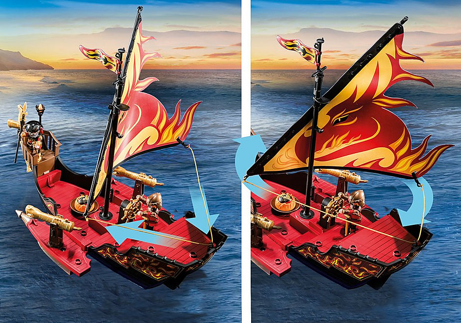 70641 Navire de combat des Burnham Raiders  detail image 5