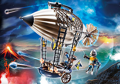 70642 Novelmore Knights Airship