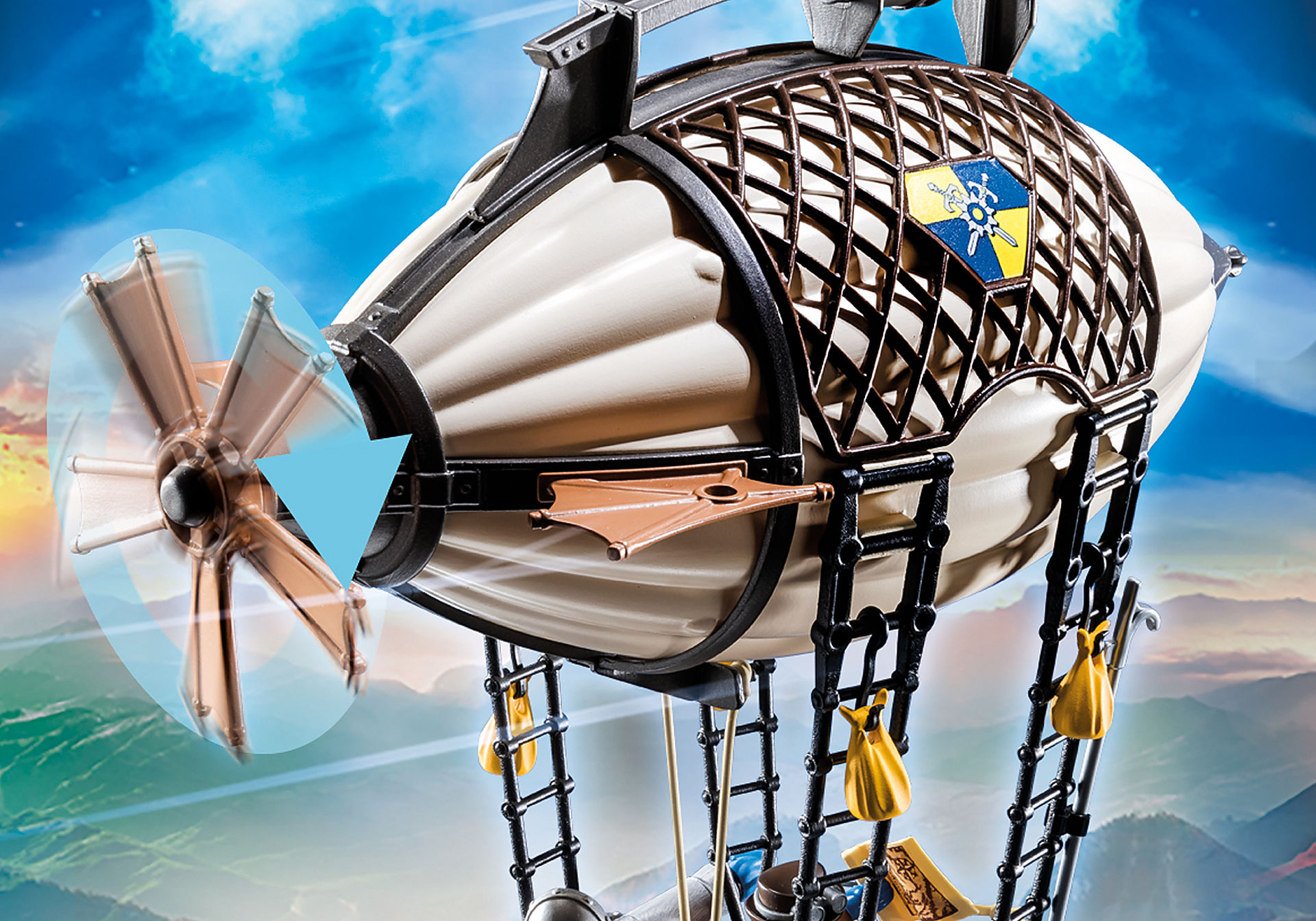 70642 Zeppelin Novelmore de Dario zoom image7