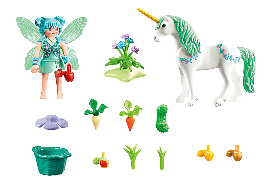 70655 Feeding Fairy with Unicorn detail image 2