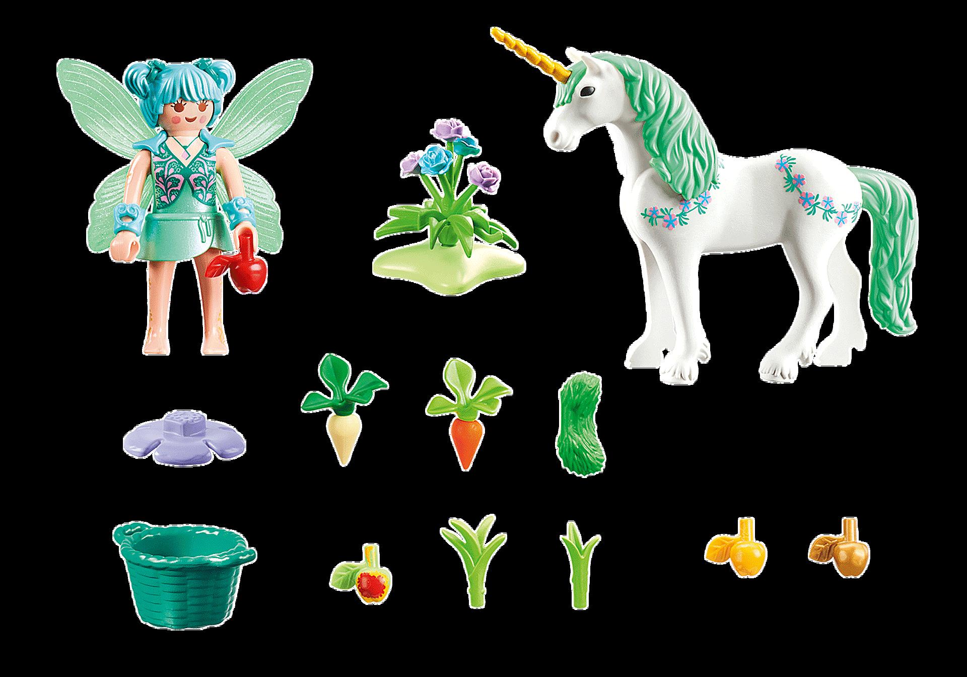 70655 Feeding Fairy with Unicorn zoom image2
