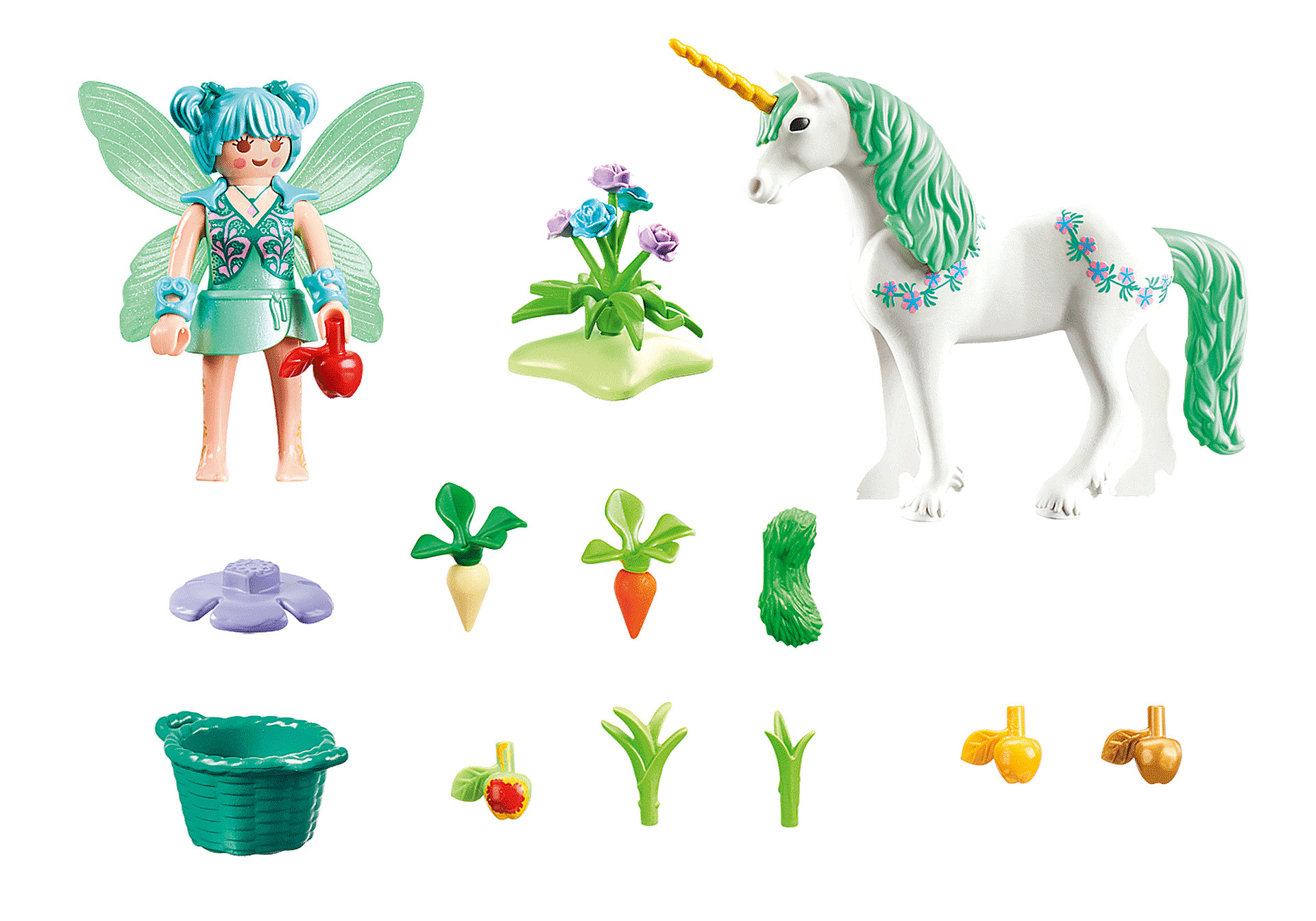 70655 Feeding Fairy with Unicorn zoom image2