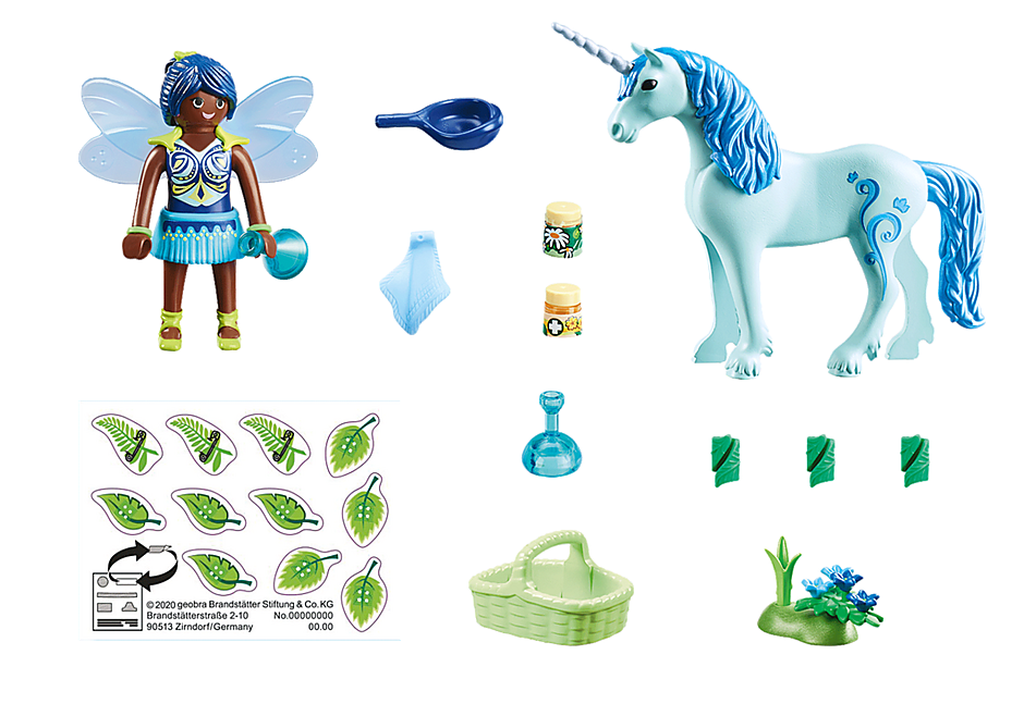 70656 Healing Fairy with Unicorn detail image 3