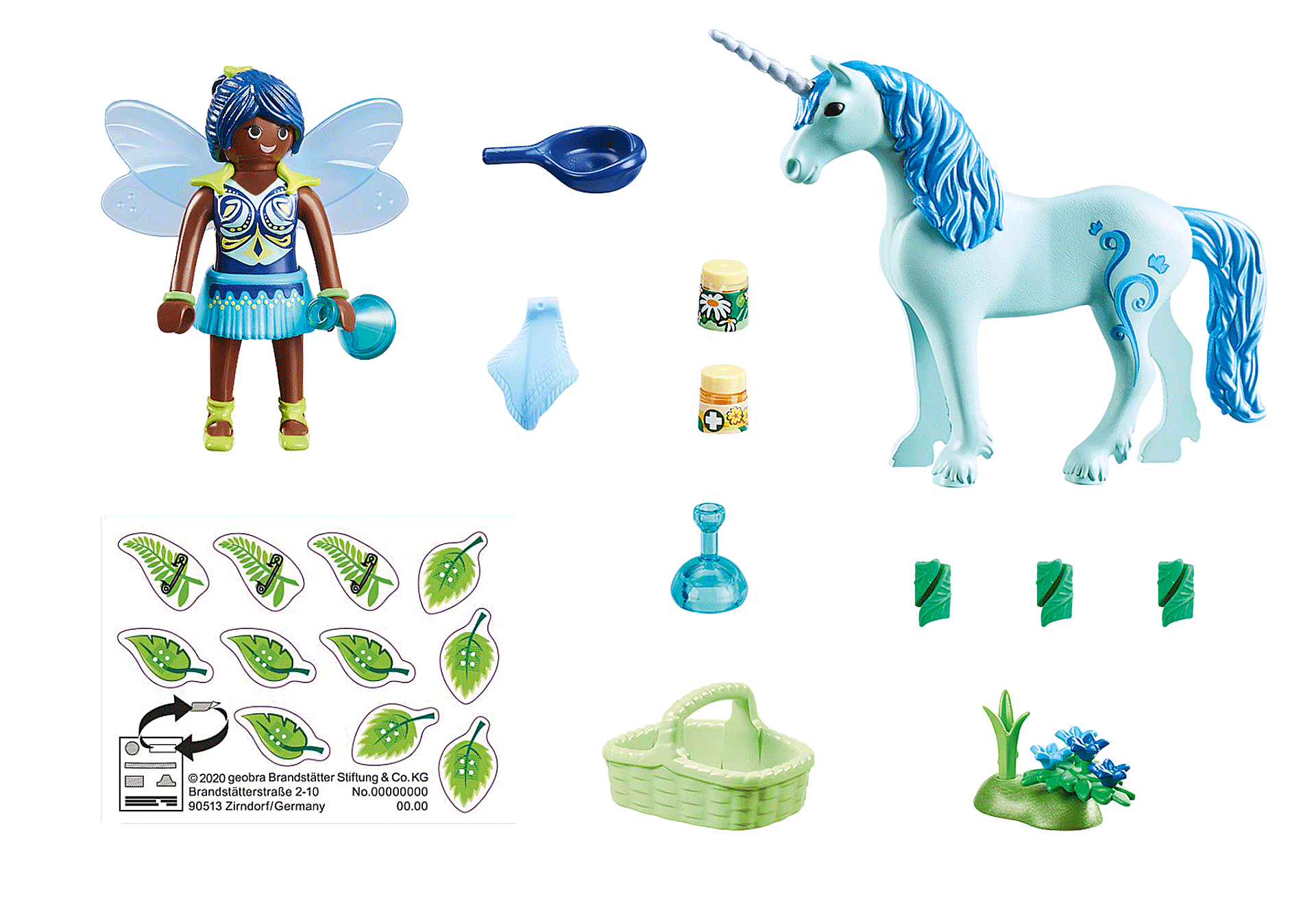 70656 Healing Fairy with Unicorn zoom image3