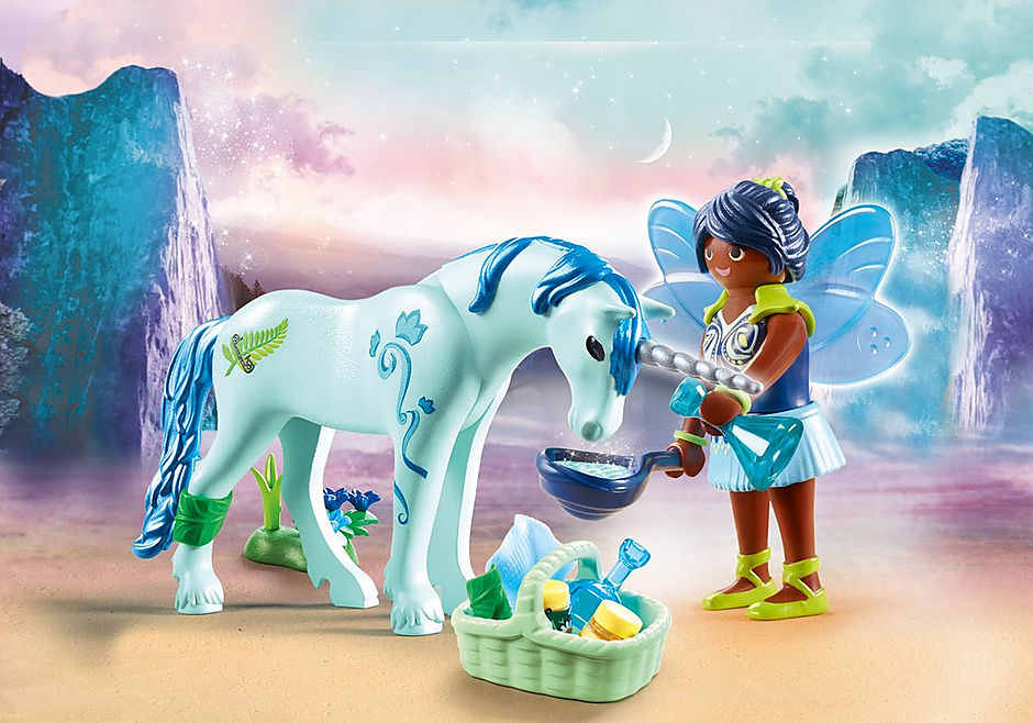 70656 Healing Fairy with Unicorn detail image 1