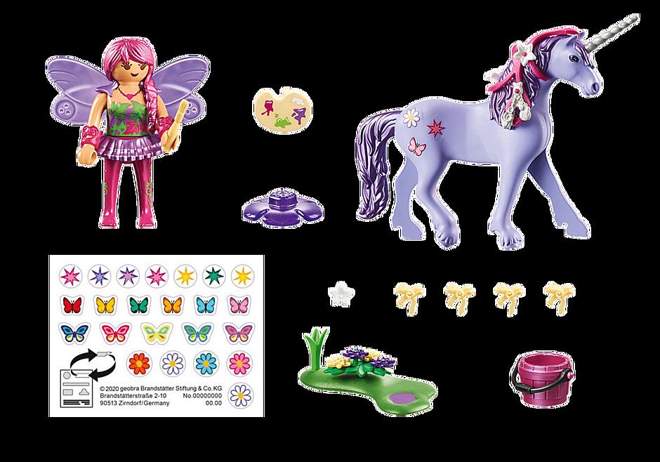 70657 Unicorno con fata delle decorazioni detail image 3