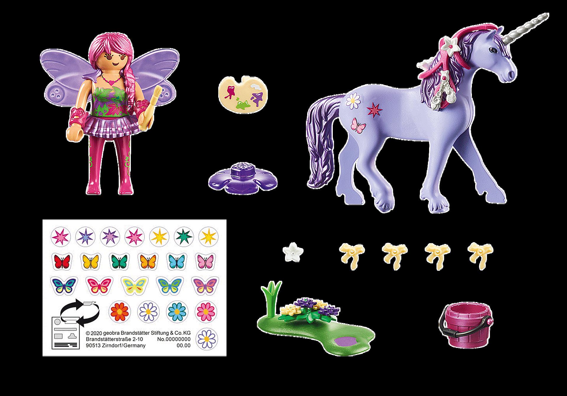 70657 Unicorno con fata delle decorazioni zoom image3