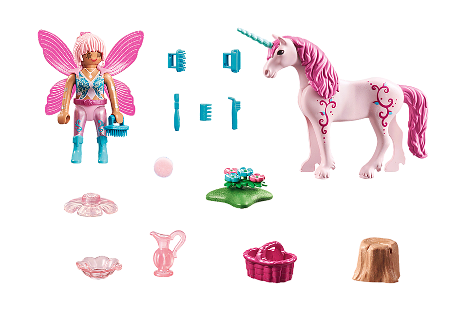 70658 Caretaker Fairy with Unicorn detail image 3
