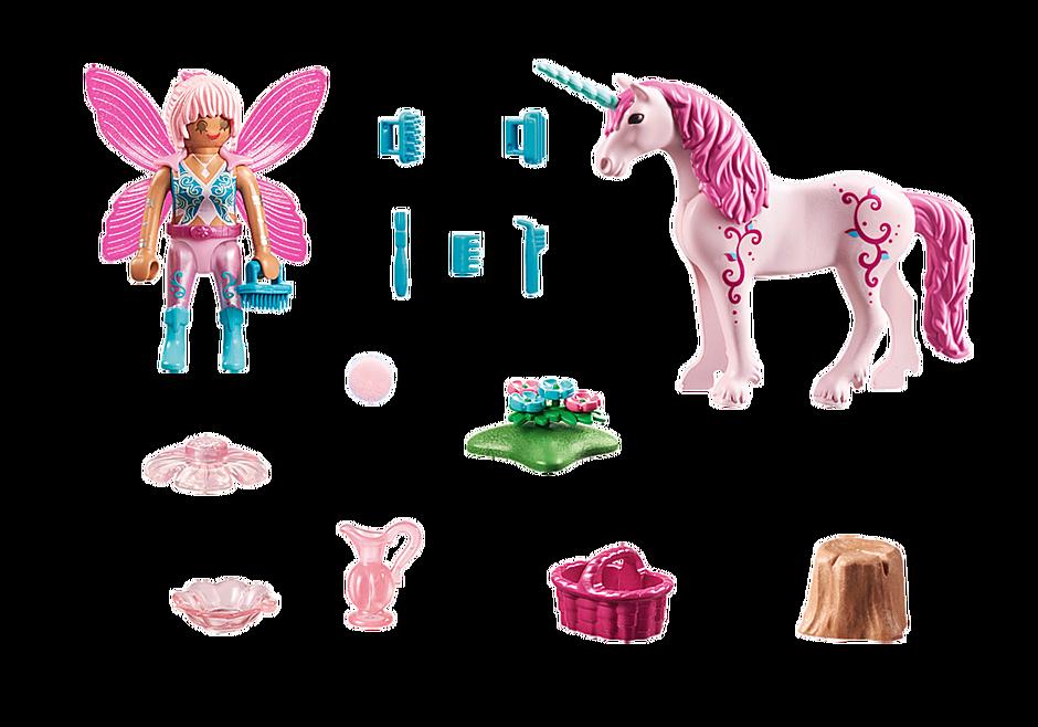 70658 Unicorno con fata della bellezza detail image 3