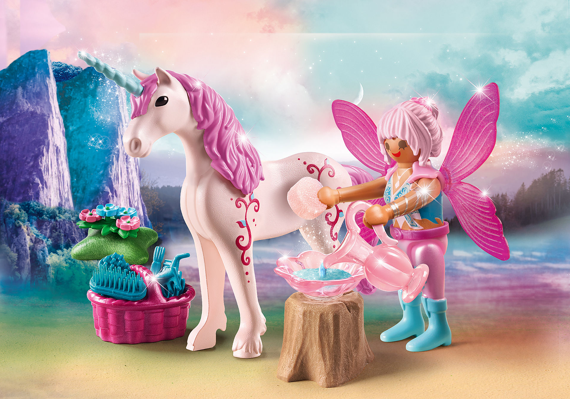 70658 Caretaker Fairy with Unicorn zoom image1