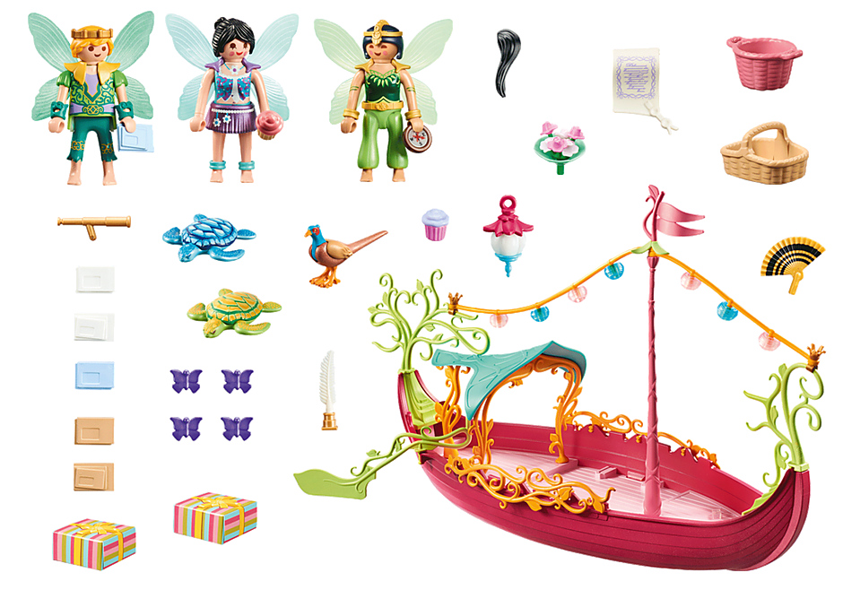 70659 Charming Fairy Boat detail image 3