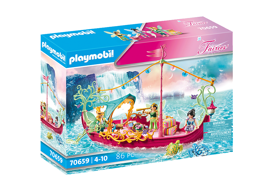 70659 Charming Fairy Boat detail image 2