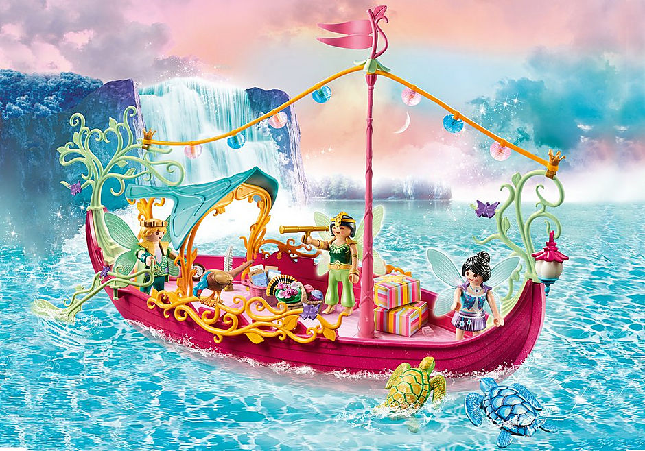 70659 Charming Fairy Boat detail image 1
