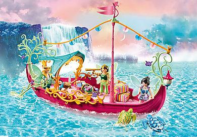 70659 Romantisk båt for feer