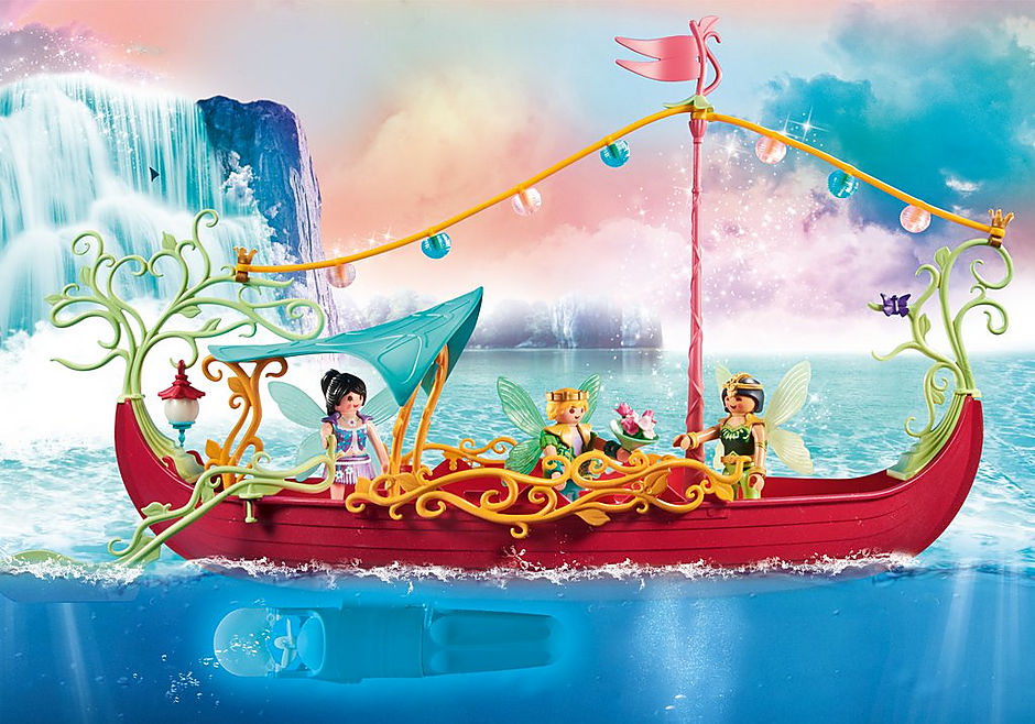 70659 Charming Fairy Boat detail image 4