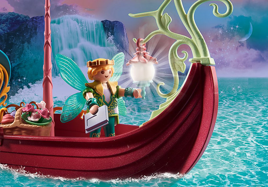 70659 Charming Fairy Boat detail image 5
