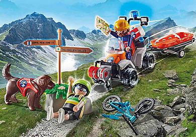 70662 Mountain Biker Rescue