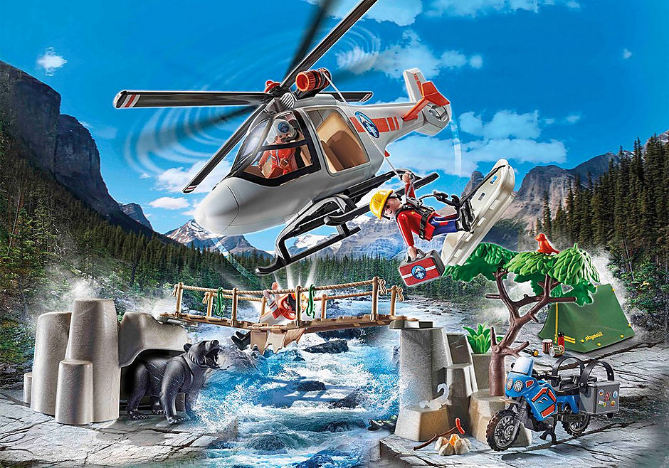 70663 Canyon Copter Rescue detail image 1