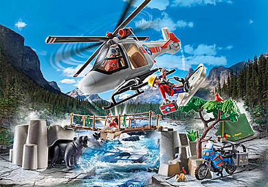 70663 Canyon Copter Rescue