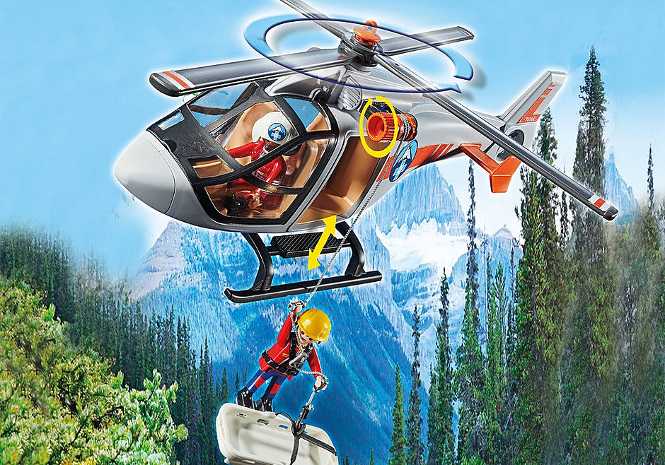 70663 Canyon Copter Rescue detail image 4