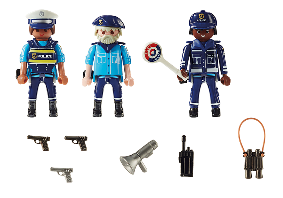 70669 Police Figure Set detail image 3
