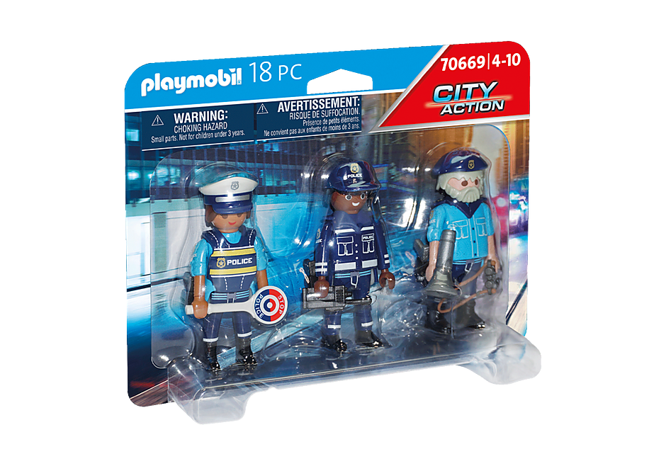 70669 Police Figure Set detail image 2