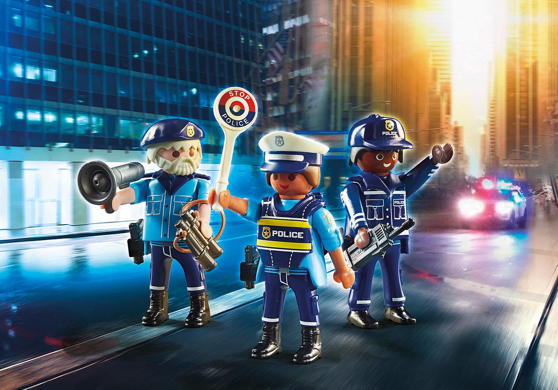 70669 Police Equipe de policiers zoom image1