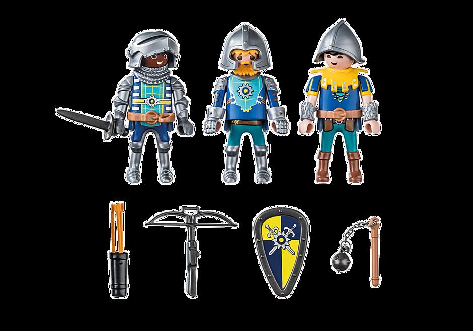 70671 Set van 3 Novelmore ridders detail image 3