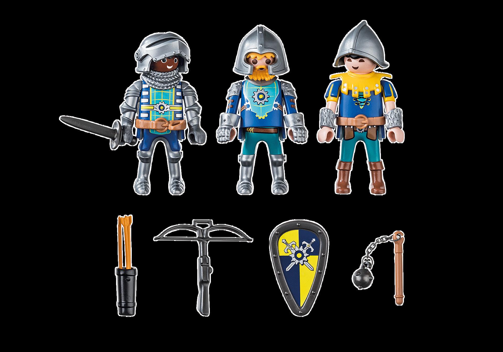 70671 Set van 3 Novelmore ridders zoom image3