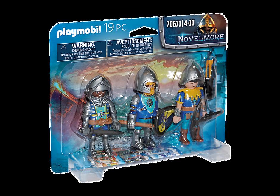 70671 Set van 3 Novelmore ridders detail image 2