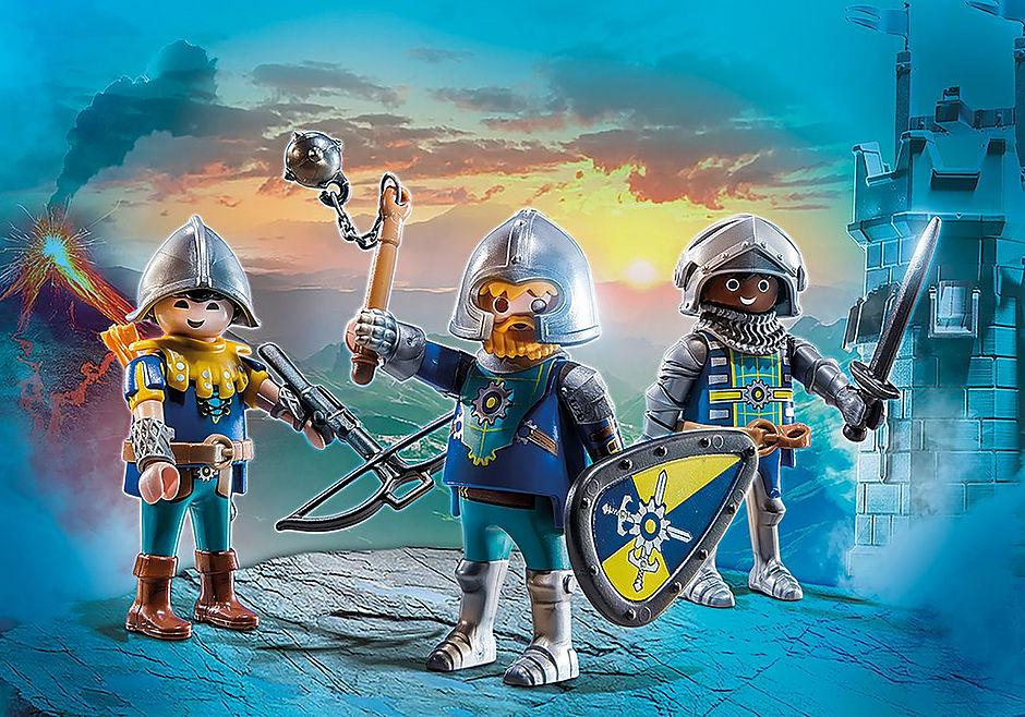 70671 Set de 3 Cavaleiros de Novelmore detail image 1