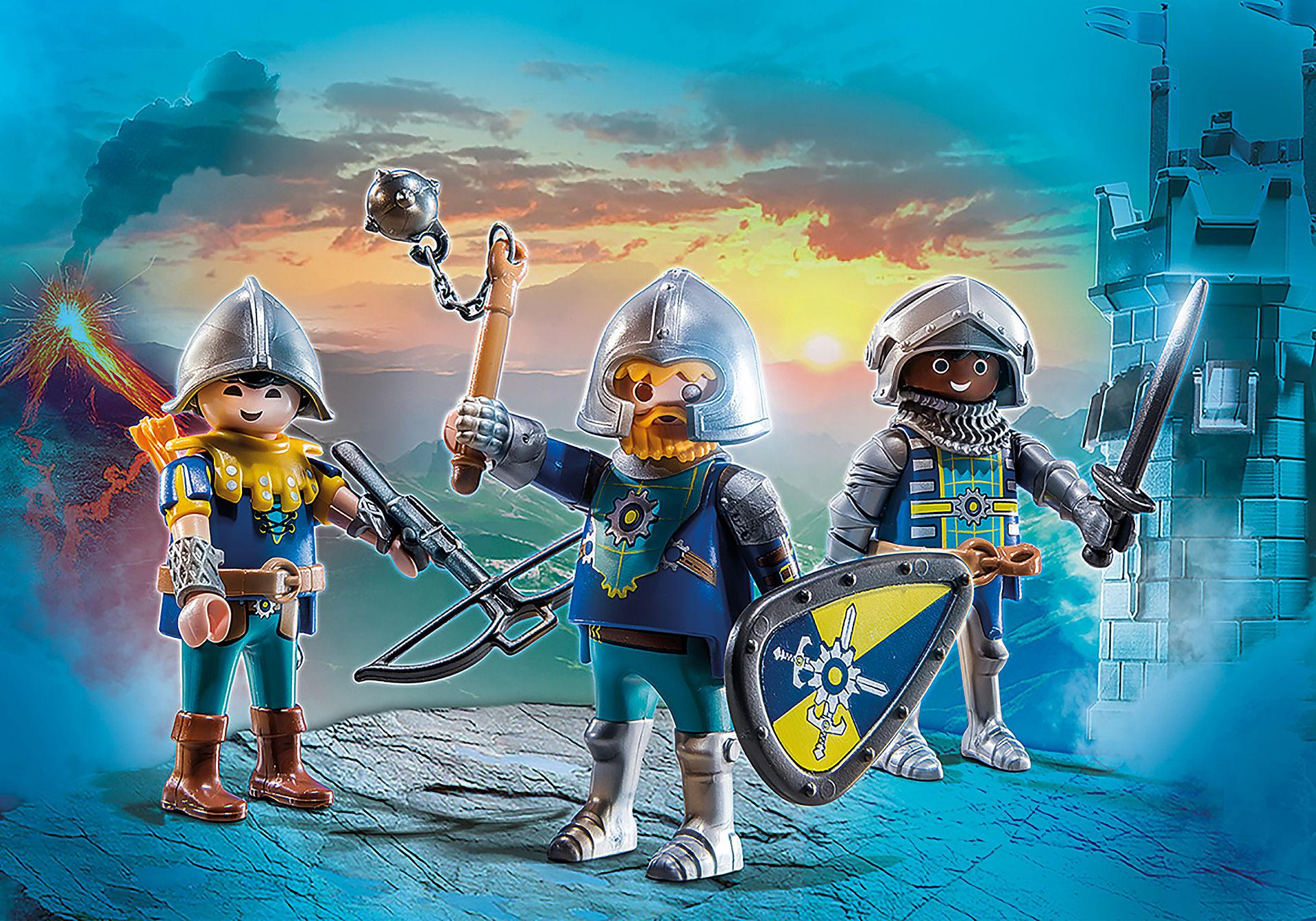 70671 Set de 3 Cavaleiros de Novelmore zoom image1