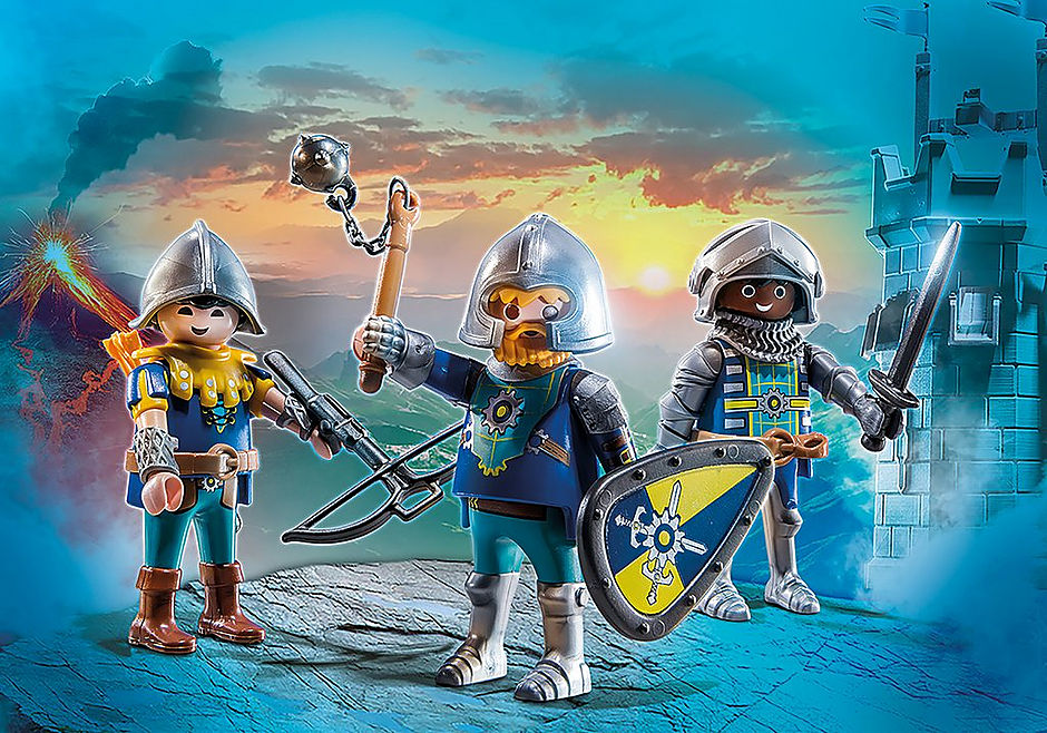 70671 Set van 3 Novelmore ridders detail image 1