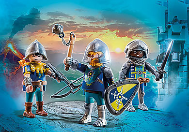 70671 Set van 3 Novelmore ridders