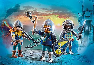 70671 Sett à 3 figurer – Novelmore-riddere
