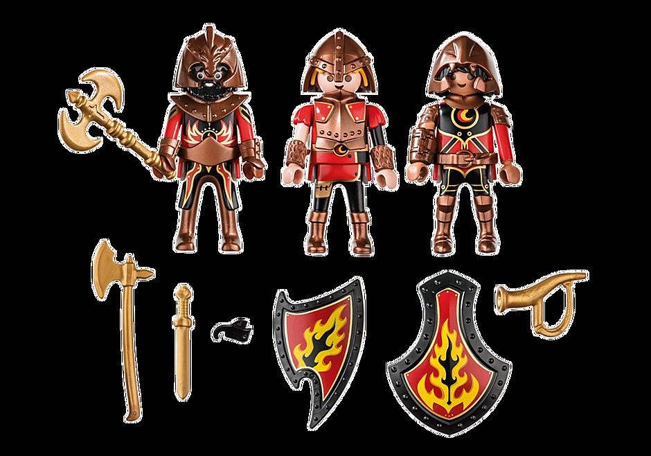 70672 3 combattants Burnham Raiders detail image 3