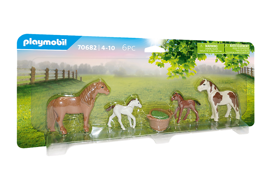70682 Ponies with Foals detail image 2