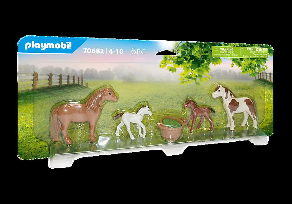 70682 Ponnyhästar med föl detail image 2