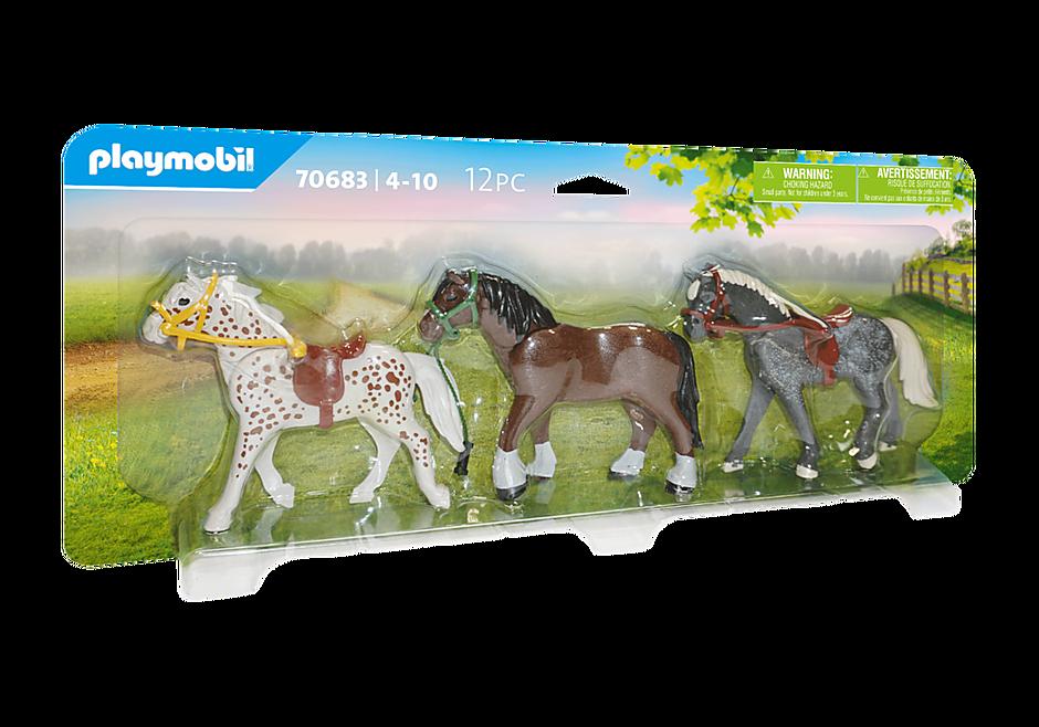 70683 3 paarden detail image 2