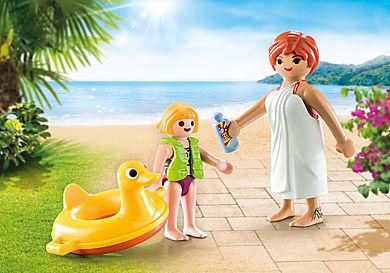 70690 PLAYMOBIL Duo couple de vacanciers