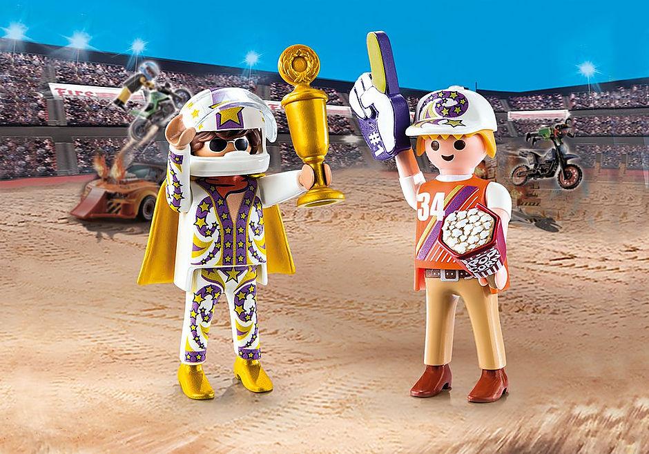 70692 PLAYMOBIL Duo Fan et cascadeur  detail image 1