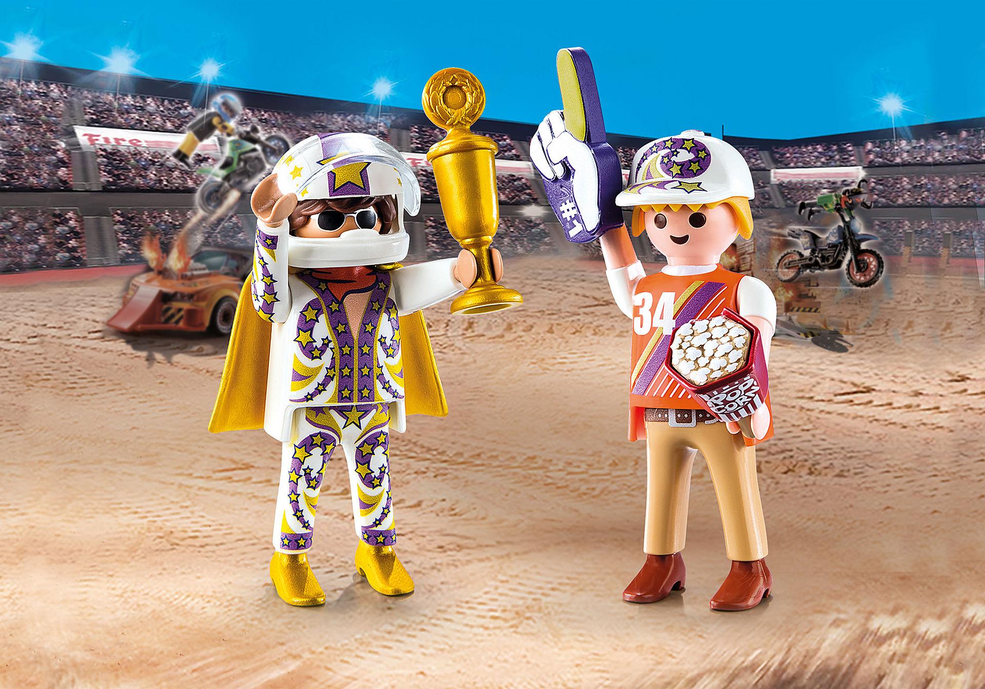 70692 PLAYMOBIL Duo Fan et cascadeur  zoom image1