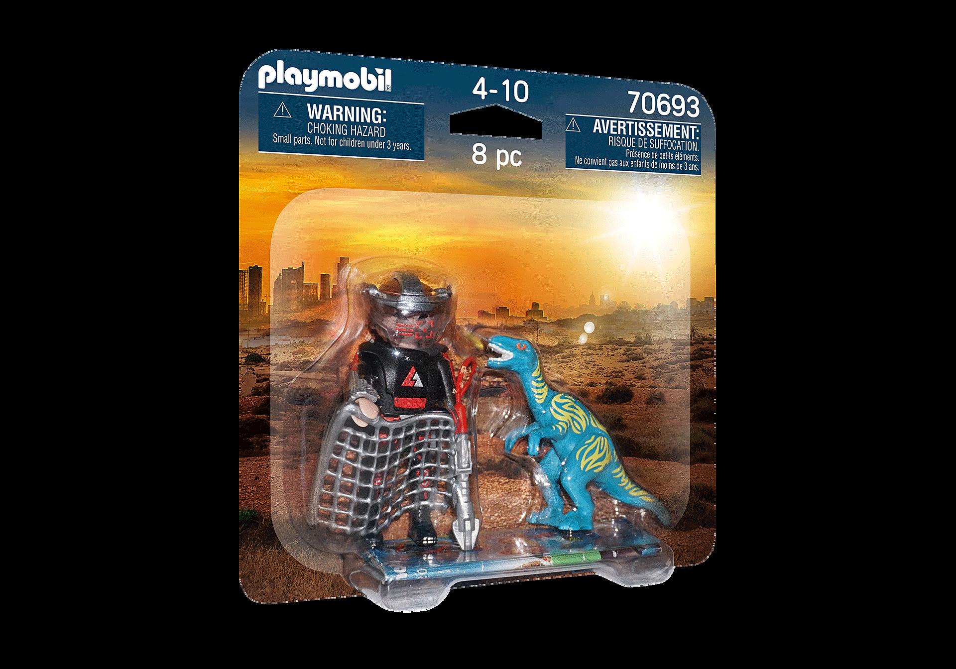 70693 DuoPack Velociraptor ja dinosauruksen pyydystäjä zoom image2