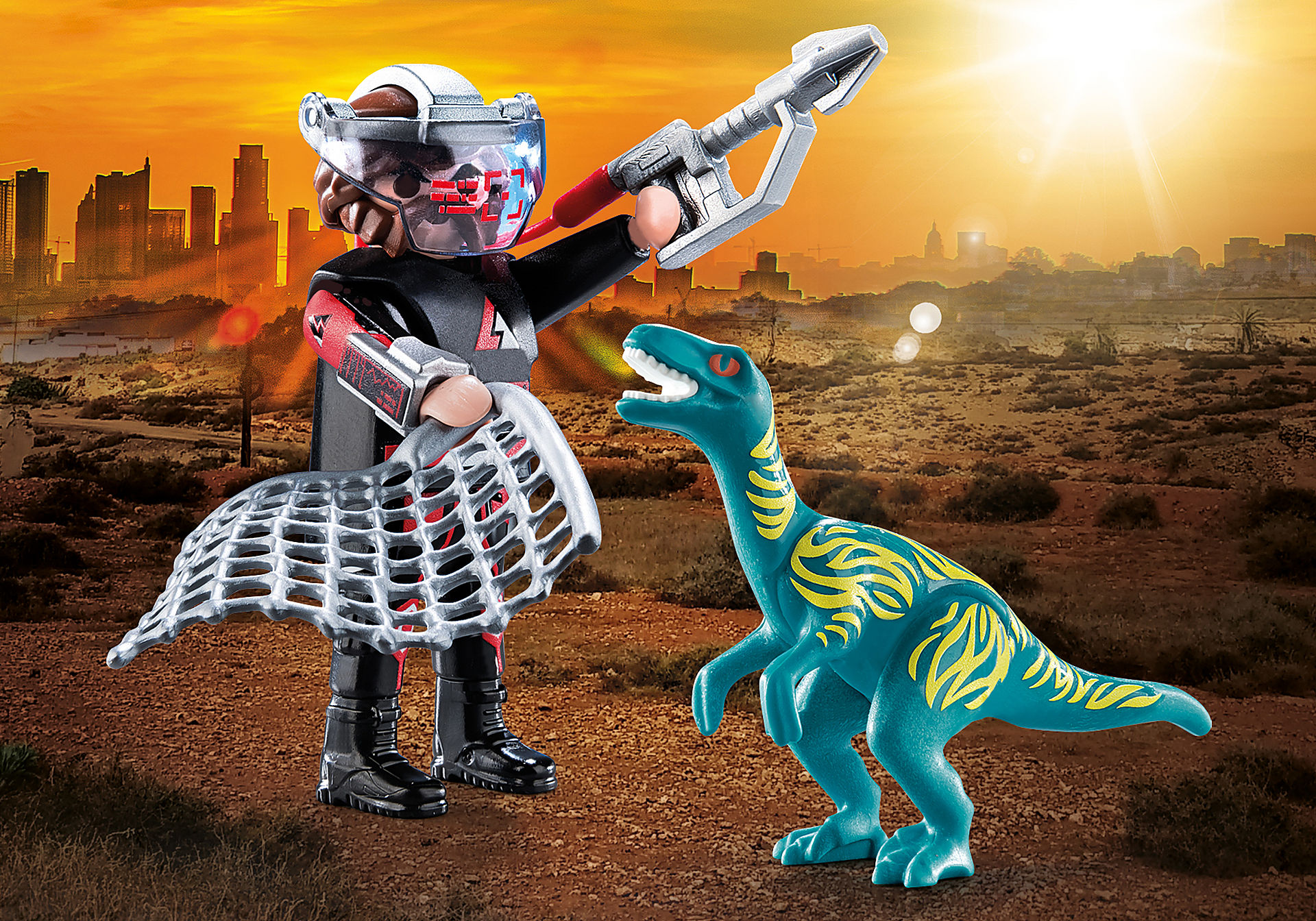 70693 DuoPack Velociraptor with Dino Catcher zoom image1