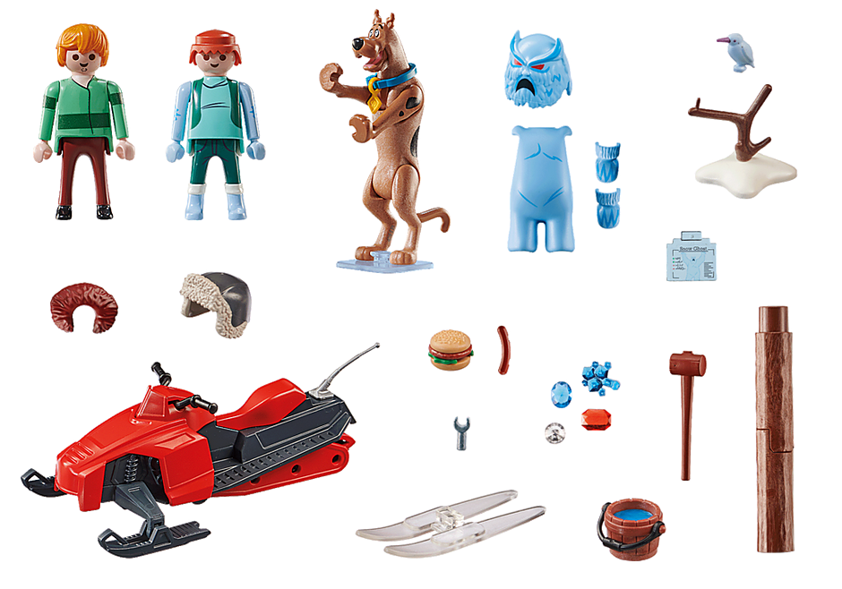70706 SCOOBY-DOO! Eventyr med Snow Ghost detail image 3