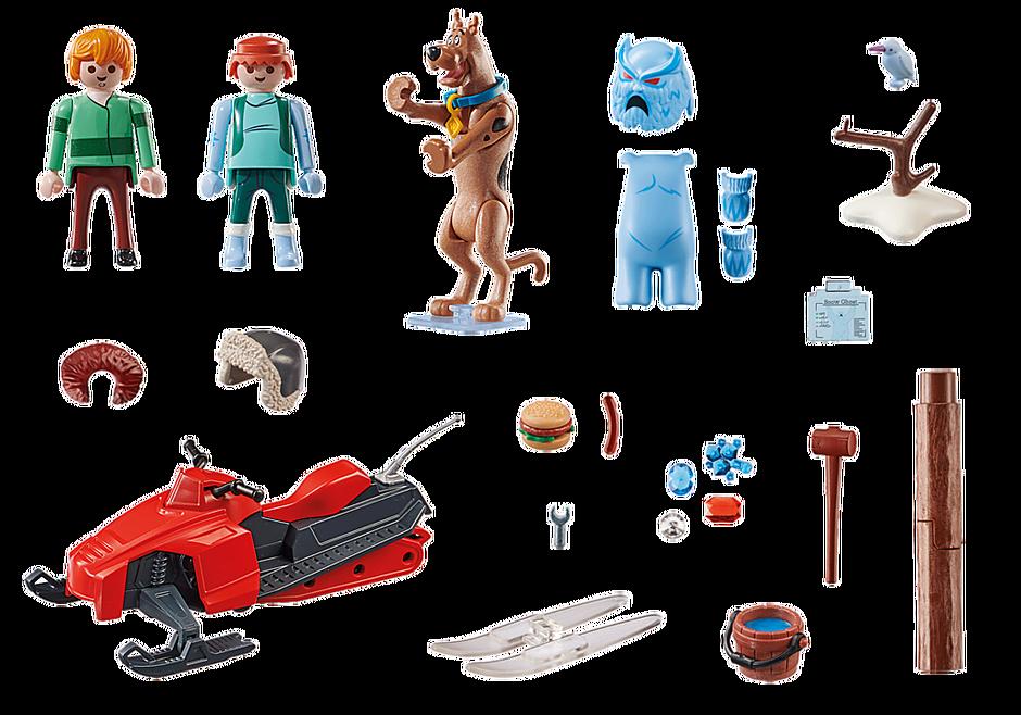 70706 SCOOBY-DOO! Seikkailu Snow Ghostin kanssa detail image 3